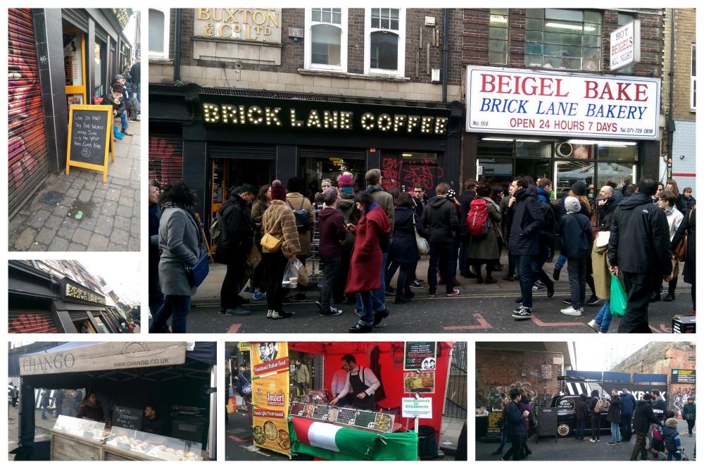 Brick lane  Colage