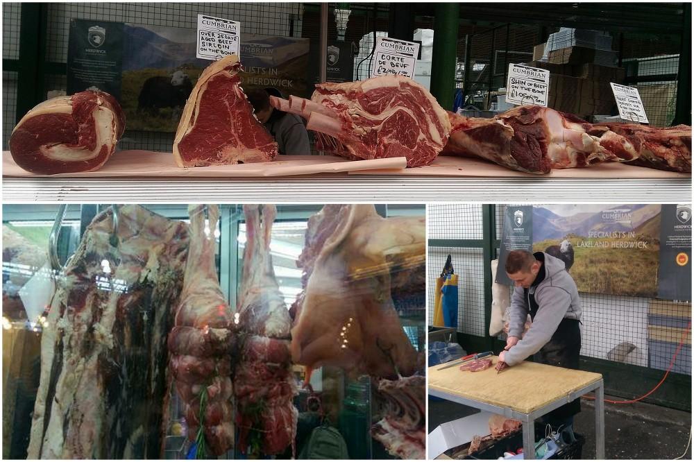 Kød collage